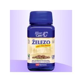 Železo s vitaminem C a kyselinou listovou, 120 tbl.