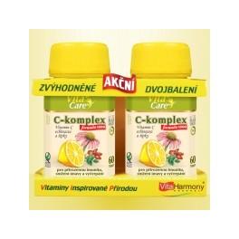 Zvýhodněné dvojbalení: C-komplex formula 1000 mg - 60+60 tbl.